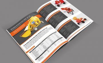 Dịch vụ thiết kế catalogue cơ khí chuyên nghiệp
