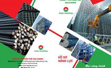Thiết kế in ấn catalogue công ty sắt thép
