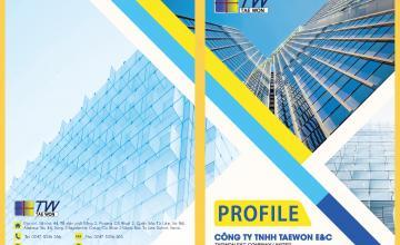 Thiết kế in ấn catalogue cho công ty nhôm kính