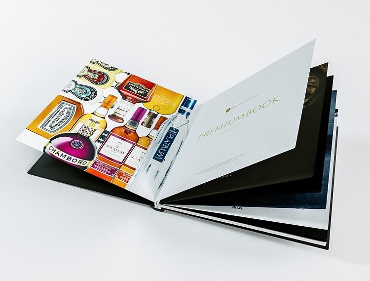 Mẫu catalogue đẹp về rượu