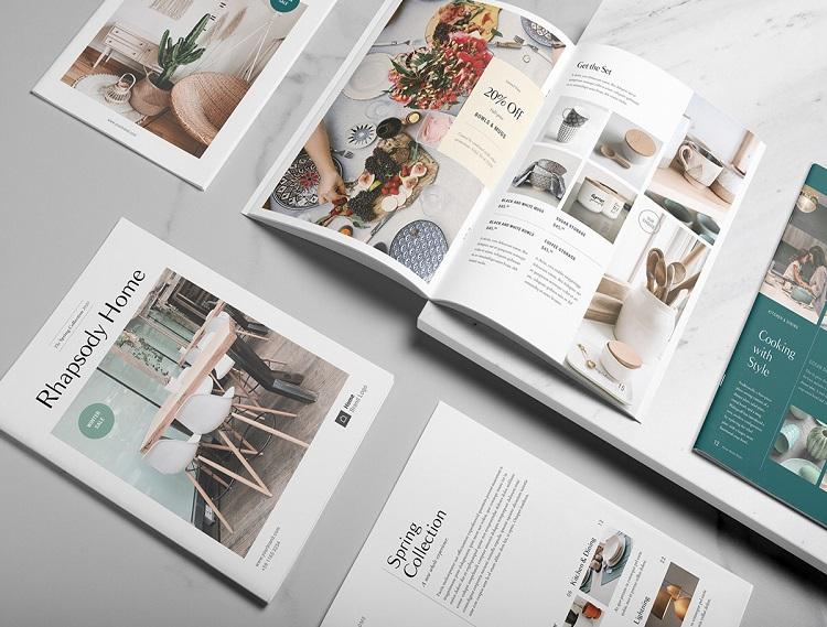 Mẫu catalogue đẹp nội thất