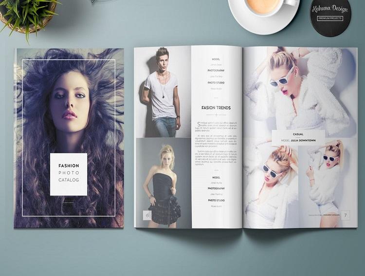 Mẫu catalogue đẹp thời trang