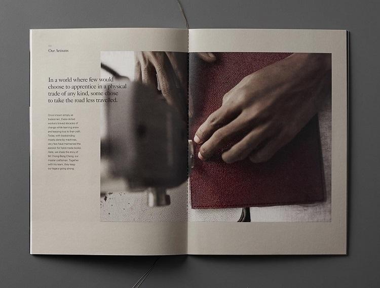 In catalogue ấn tượng
