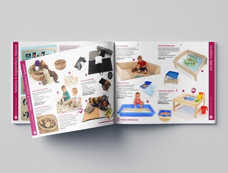 In catalogue sản phẩm trẻ em
