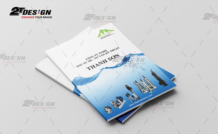 Thiết kế catalogue công ty Kỹ Thuật Thanh Sơn