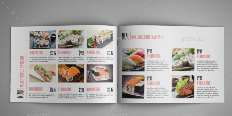 Thiết kế catalogue thực phẩm, mẫu thiết kế catalogue thực phẩm đẹp