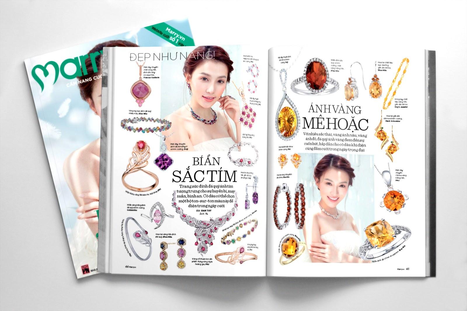 Tìm hiểu thiết kế catalogue trang sức? Quy cách thiết kế chất lượng xưởng in 2T